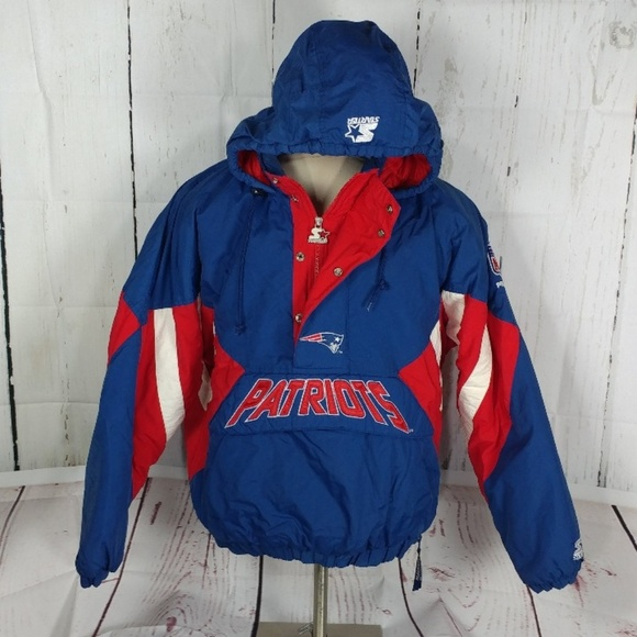 new product ec0ec 73897 Vintage Starter New England Patriots Pullover XL